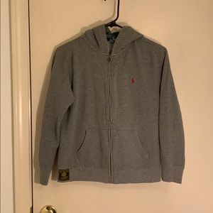Youth Polo Hoodie